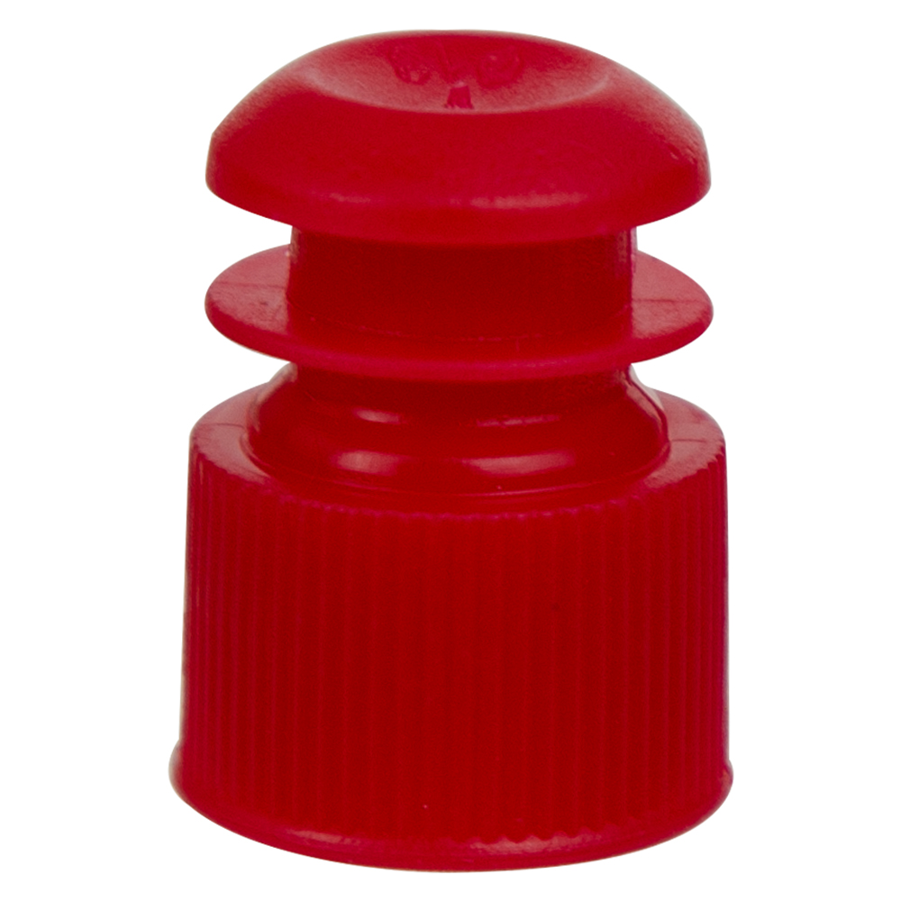 13mm Red Flanged Cap