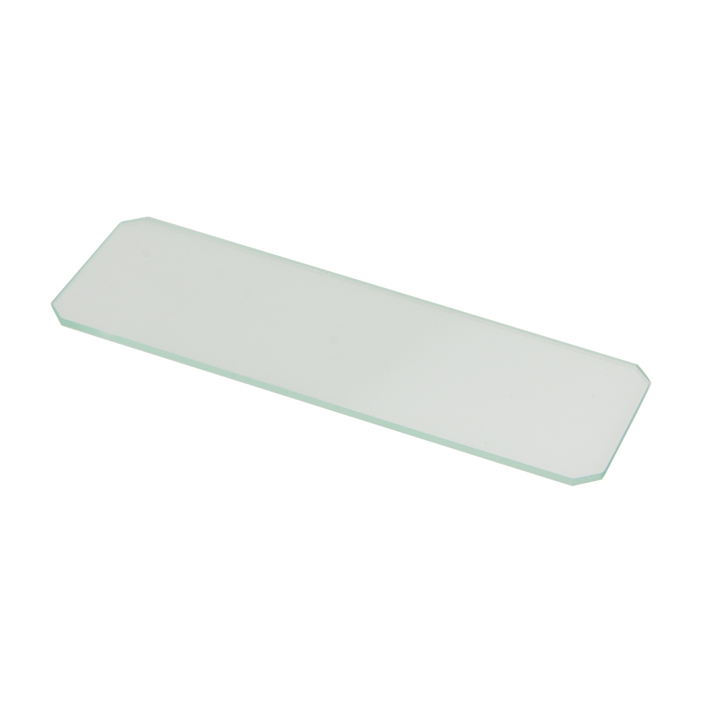 "3"" x 1"" Microscope Slides with Rounded Corners"