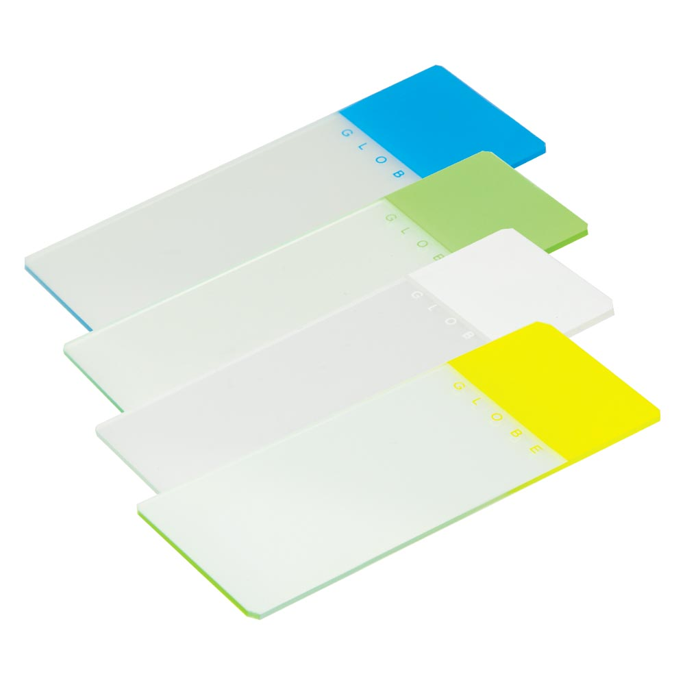Color-Coded Microscope Slides