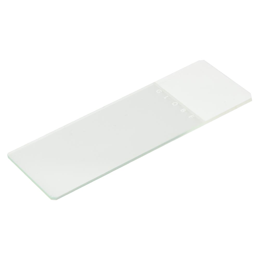 White Coded Safety Microscope Slide
