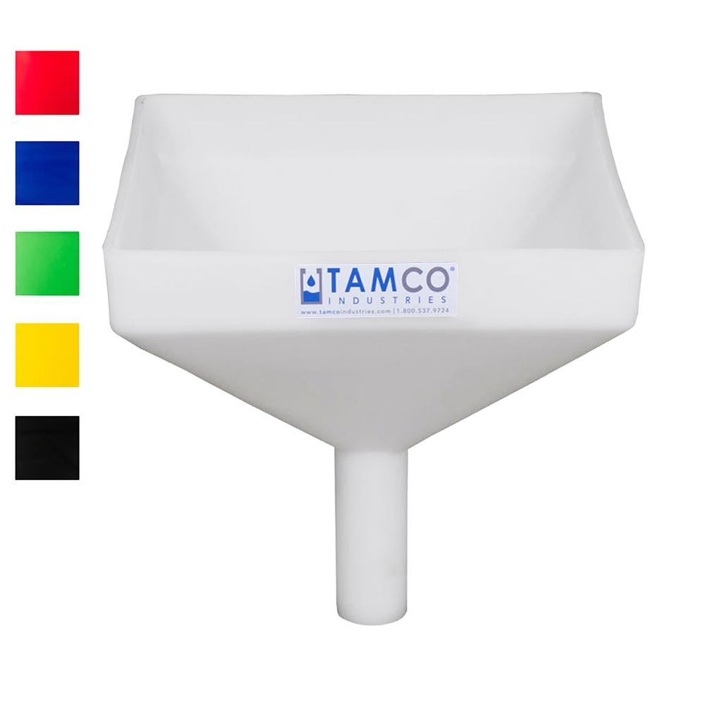 """Tamco® Heavy Duty 10"""" Square Funnel"""
