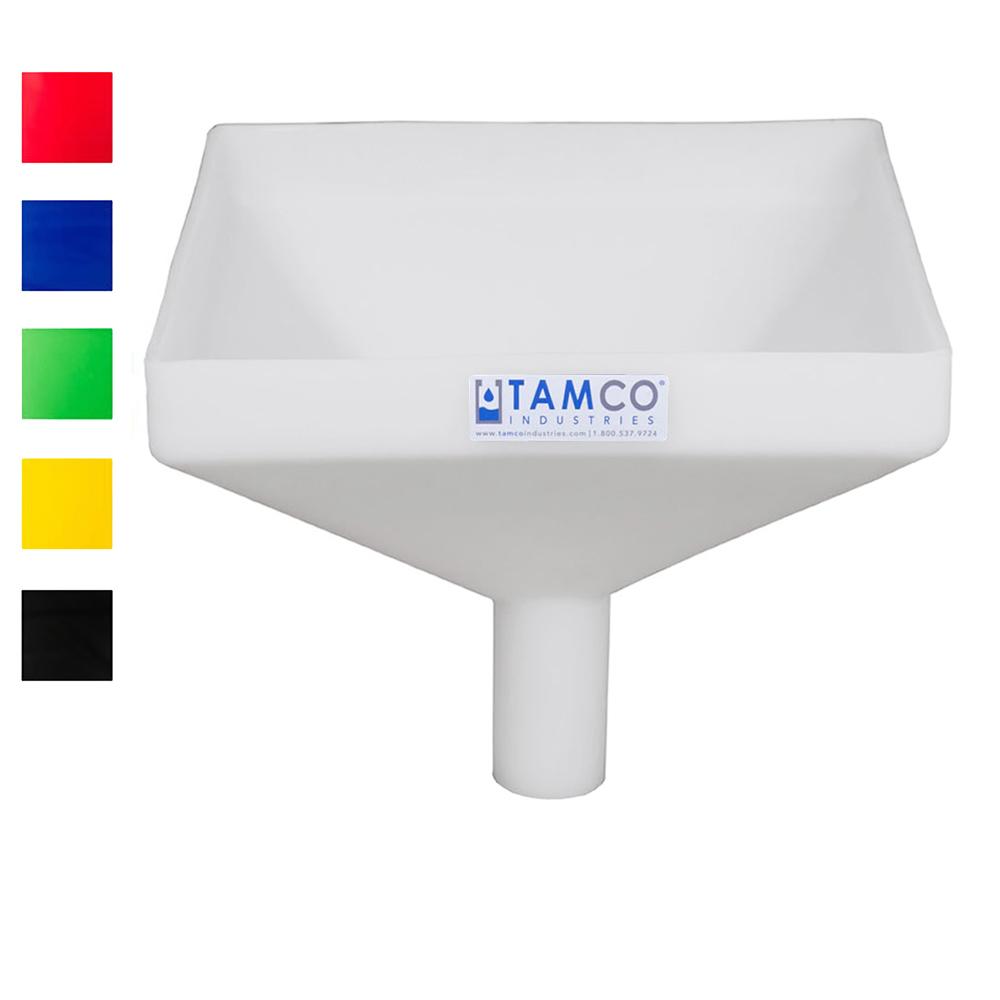 """Tamco® Heavy Duty 12"""" Square Funnel"""