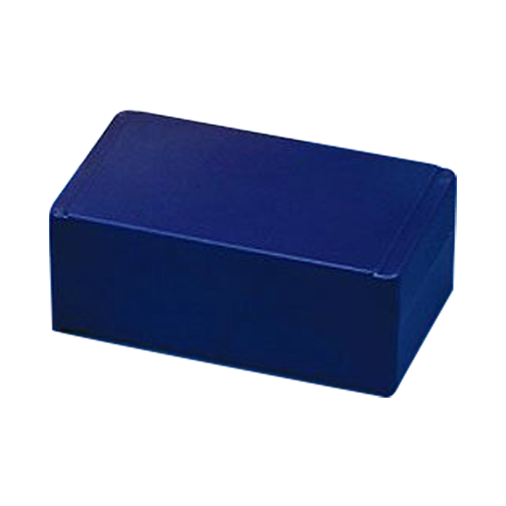 50 Slide Blue ABS Storage Box with Hinged Lid