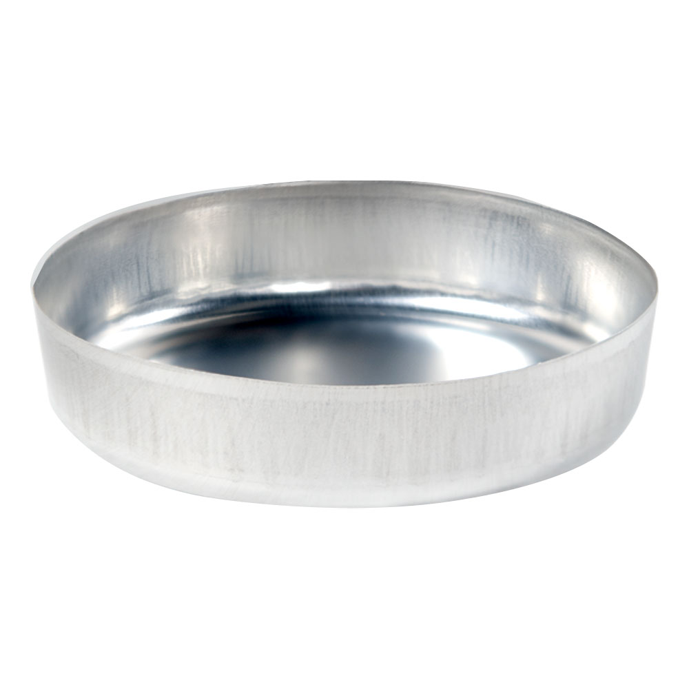 70mm Disposable Aluminum Smooth Weighing Dishes