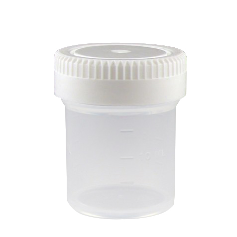 20mL (0.67 oz.) Tite-Rite™ Container with 35mm Cap - Case of 1000