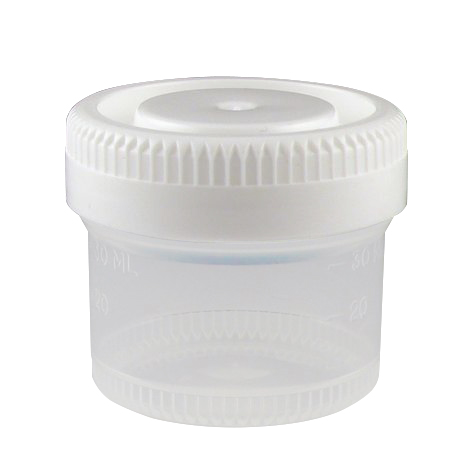40mL (1.34 oz.) Tite-Rite™ Container with 48mm Cap - Case of 600