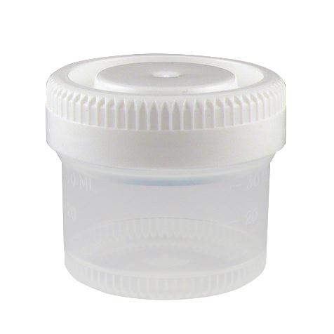 40mL Tite-Rite™ Non-Sterile Container with 48mm Cap - Case of 600
