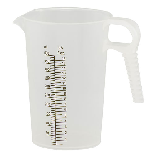 16 oz. Accu-Pour™ Polypropylene Measuring Pitcher