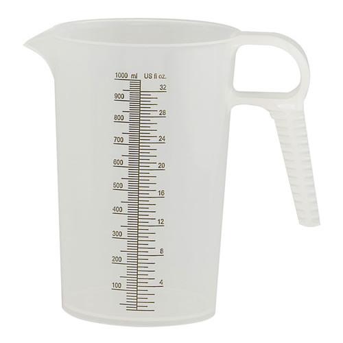 32 oz. Accu-Pour™ Polypropylene Measuring Pitcher
