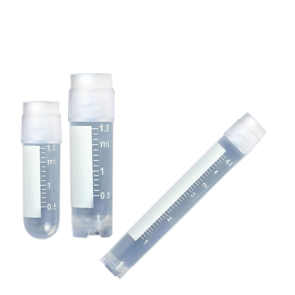 3mL CryoClear™ Vial with External Threads, Round Bottom, Self-Standing- 500 per case