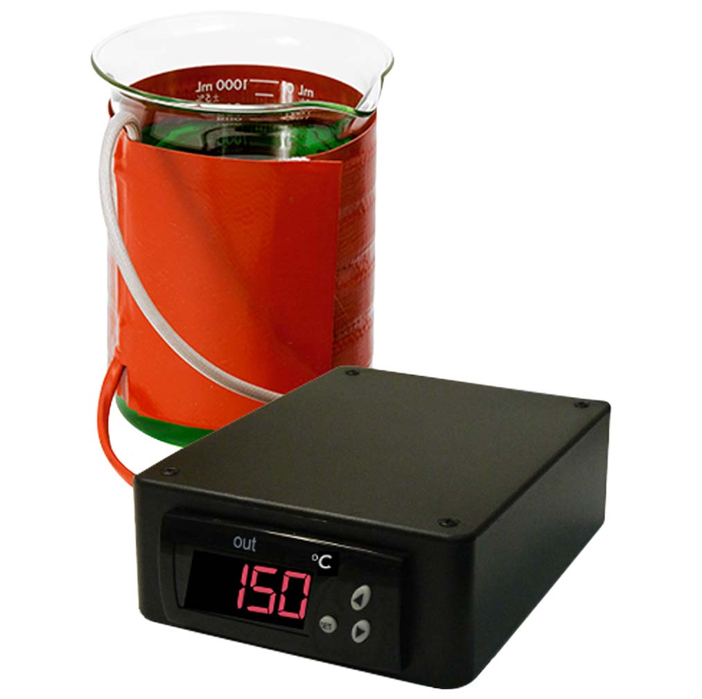 400mL BriskHeat® Beaker Heater with Temperature Controller in Celsius Display 120V