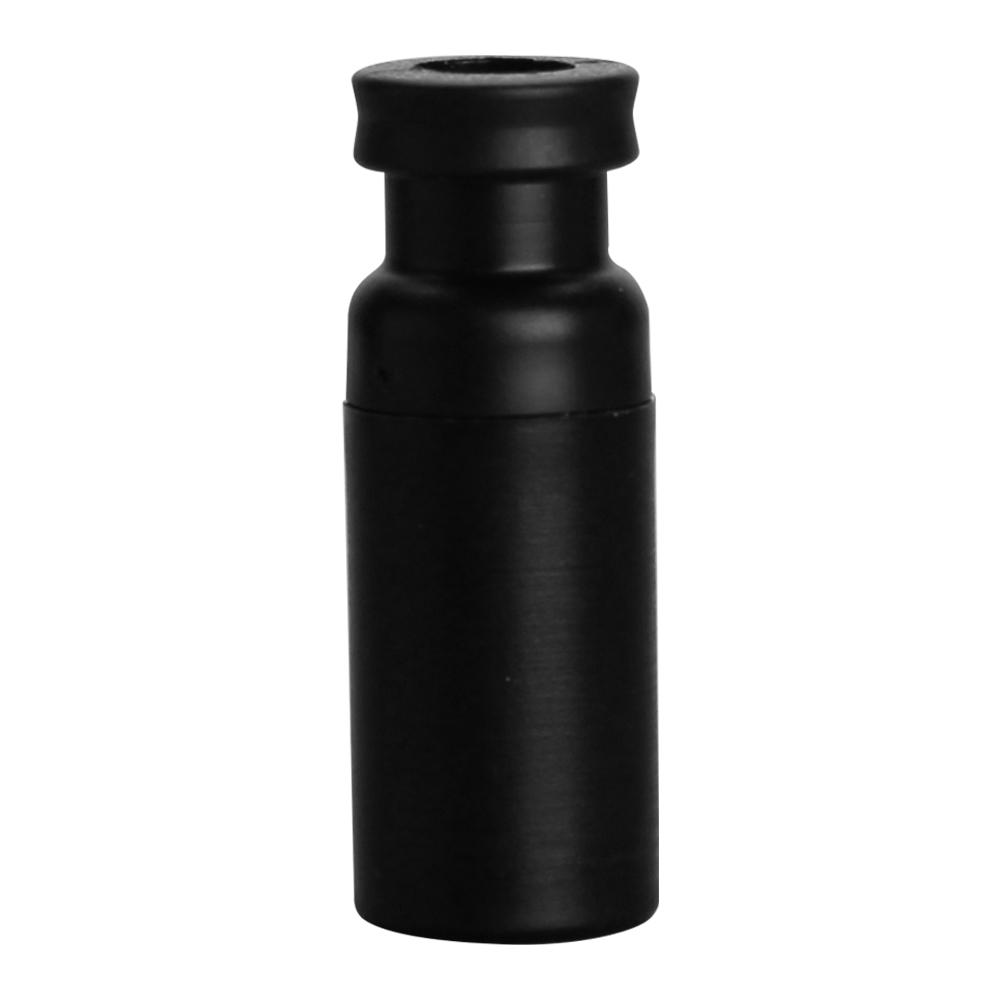 1.5mL Black Limited Volume Snap Seal™ Polypropylene Vials with 11mm Crimp Neck - Case of 1000 (Seals Sold Separately)