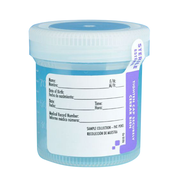 90mL Tite-Rite™ Sterile Container with 53mm Cap - Case of 300
