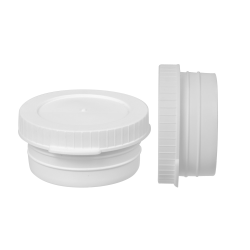 24mm LDPE Cap Plug Seal for Vials with Thumb Tab