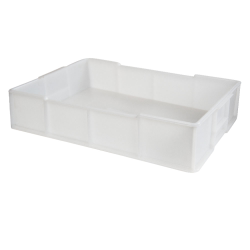 16 Liter HDPE Stackable Deep Tray