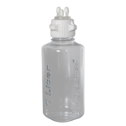 1 Liter PETG Heavy Duty Vacuum Bottle with 53mm Open Cap