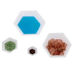 Hexagon Weighing Dishes