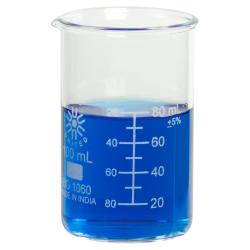 100mL Tall Form Borosilicate Glass Berzelius Beaker with Spout