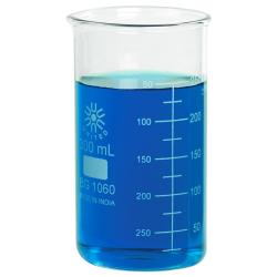 300mL Tall Form Borosilicate Glass Berzelius Beaker with Spout