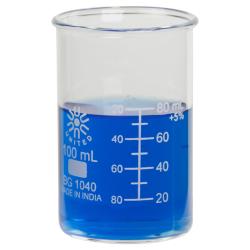 100mL Tall Form Borosilicate Glass Berzelius Beaker