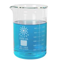 2000mL Low Form Heavy Duty Glass Beaker