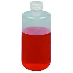 Polypropylene & HDPE Narrow Mouth Reagent Bottles with Caps