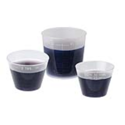 2 oz./60cc Non-Sterile Premium Medicine Cup mL, oz.- 25 per Package