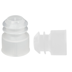 Natural Cap/Plug for 15mL Centrifuge Tubes