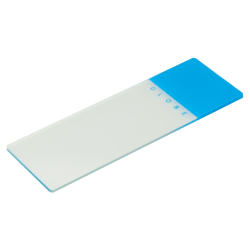 Blue Coded Safety Microscope Slide
