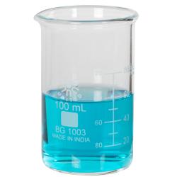 100mL Low Form Heavy Duty Glass Beakers
