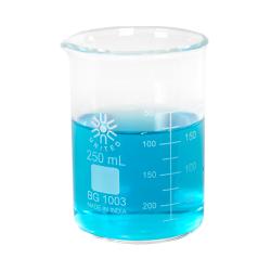 250mL Low Form Heavy Duty Glass Beakers