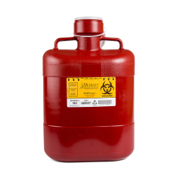 10 Quart Red Non-Stackable Sharps Container