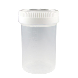 60mL Tite-Rite™ Non-Sterile Container with 48mm Cap - Case of 500