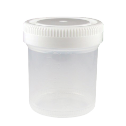 90mL Tite-Rite™ Non-Sterile Container with 53mm Cap - Case of 300