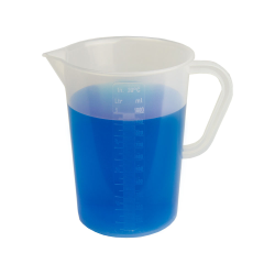1000mL Graduated Pitcher with Handle - 4-3/8