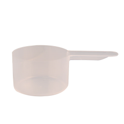43cc (3 Tbsp./1-1/2 oz.) Natural Polypropylene Scoop