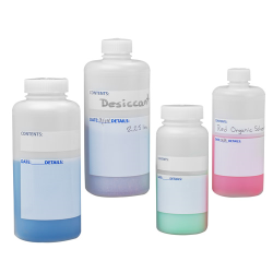 Write-On HDPE Bottles