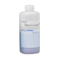 1000mL Narrow Mouth Write-On HDPE Bottles with Caps - Case of 6