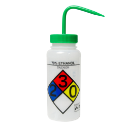 500mL Scienceware® 70% Ethanol Wide Mouth Safety-Labeled Wash Bottle
