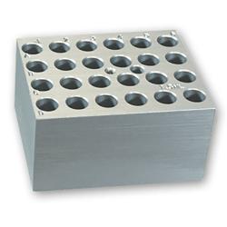 24 Slots x 1.5mL Centrifuge Tubes Block