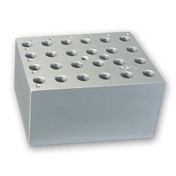 24 Slots x 0.5mL Centrifuge Tubes Block