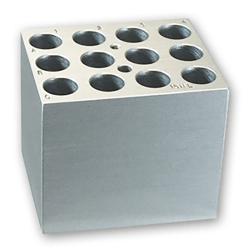12 Slots x 15mL Centrifuge Tubes Block