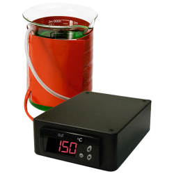 250mL BriskHeat® Beaker Heater with Temperature Controller in Celsius Display 120V