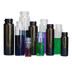 Glass Dram Vials in Pre-Assembled Convenience Packs