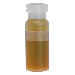 1.5mL Amber Limited Volume Snap Seal™ Polypropylene Vials with 11mm Crimp Neck - Case of 1000 (Seals Sold Separately)