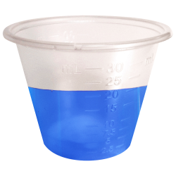 1 oz. Economy Medicine Cups with mL Graduations - Package of 100
