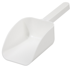 250mL White Polystyrene Sterile Sterileware® Pharma Scoops - Case of 85