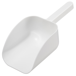 1000mL White Polystyrene Sterile Sterileware® Pharma Scoops - Case of 25