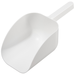 2500mL White Polystyrene Sterile Sterileware® Pharma Scoops - Case of 15