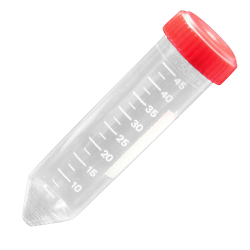 50mL Polystyrene General Purpose Centrifuge Tubes with Caps - Sterile - Case of 500